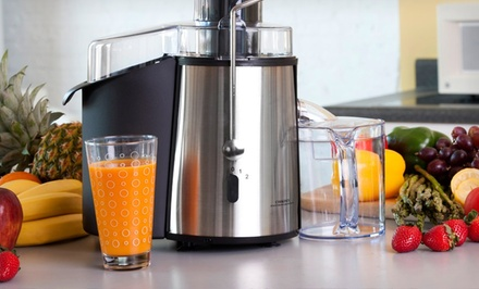 Cookinex 700-Watt 2-Speed Stainless Steel Juicer. Free Returns.