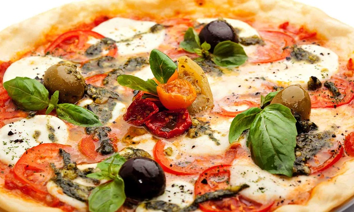 The Healthy Pizza Company - Mission Hills South: $9 for $14 Worth of Healthy Pizza at The Healthy Pizza Company