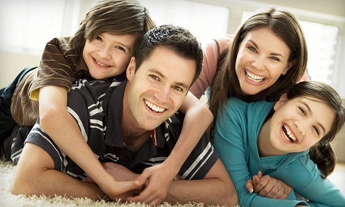 Dr. Paul Leatham DMD - Leatham Dental: Dental Checkup for an Adult, Child, or Family of Four from Dr. Paul Leatham DMD (Up to 90% Off). Four Options Available.
