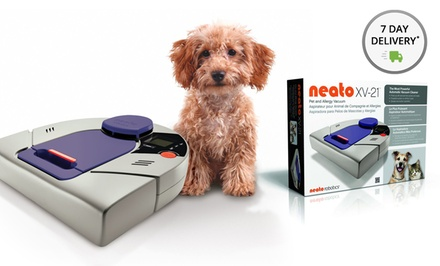 Neato XV-21 Pet and Allergy Robotic Vacuum Cleaner with Extra Filters. Free Returns.
