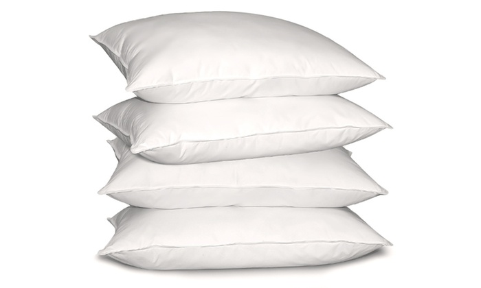 Cotton Down-Alternative Pillow 4-Pack: $39.99 for a 100% Cotton Down-Alternative Pillow 4-Pack ($99.99 List Price). Free Shipping.