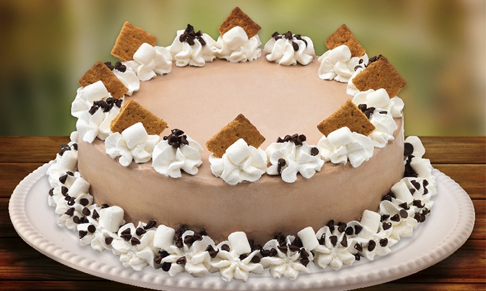 Marble Slab Creamery - Multiple Locations: C$18 for One Large Ice-Cream Cake at Marble Slab Creamery (Up to C$37.95 Value)