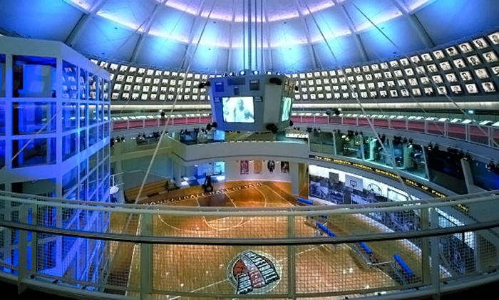 Naismith Memorial Basketball Hall of Fame - South End: Naismith Memorial Basketball Hall of Fame Visit for Two or Four (Up to 58% Off)