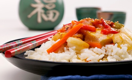 Combination Dinner for Two or Four at Orient Garden Restaurant in Morrisville (50% Off)