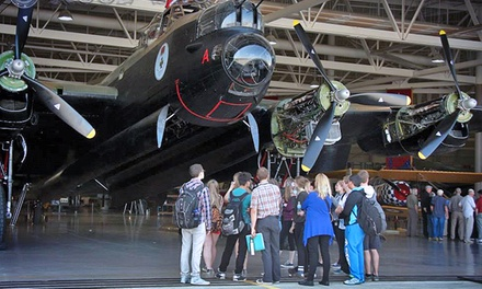 Admission for Up to Two Adults and Two Children at the Canadian Warplane Heritage Museum (Up to 54% Off)