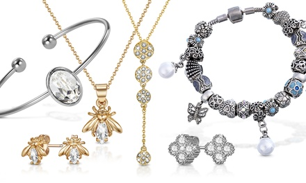 Mestige Earrings, Bracelets, Necklaces or Sets of Jewellery with Crystals from Swarovski® With Free Delivery
