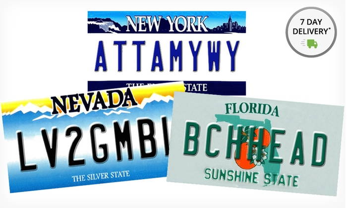 "12""x16"" Metal License-Plate Wall Art: 12""x16"" Metal License-Plate Wall Art. Multiple Signs Available. Free Returns."