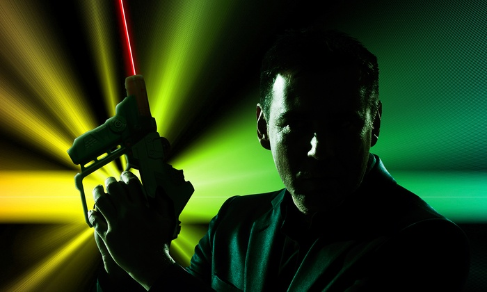LaserStrike  - Brandon: Four Laser-Tag Sessions for Two or Four or Unlimited Sessions for Two at LaserStrike (Up to 55% Off)