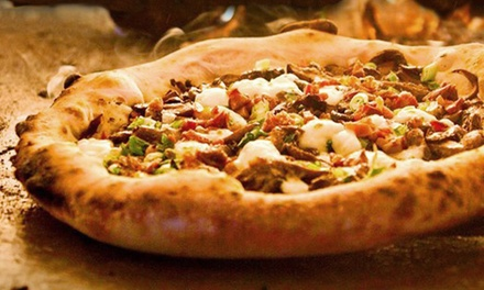 $11 for $20 Worth of Gourmet Pizza and Drinks at Humble Pie