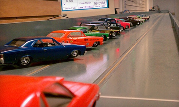 Dave's Hobby Central - Santa Barbara Downtown: One Hour of Slot-Car Racing for One or Two or Birthday Party for Up to Ten at Dave's Hobby Central (Up to 56% Off)