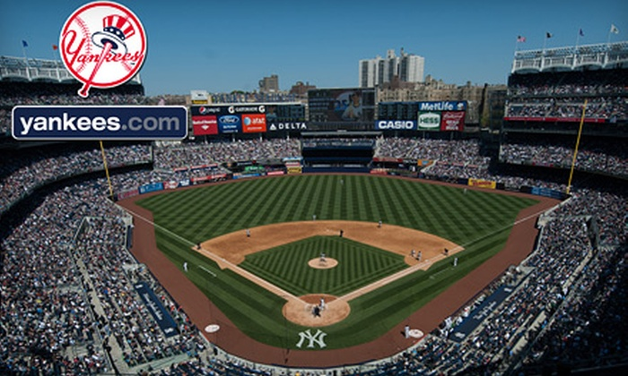 New York Yankees - Yankee Stadium: New York Yankees Game at Yankee Stadium (Up to 54% Off). Three Seating Options and Four Games Available.