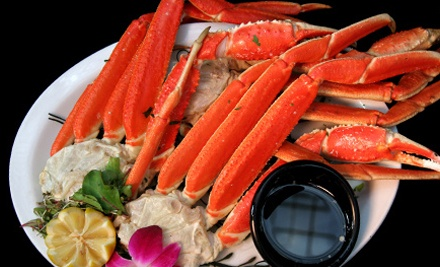 King Crab Dinner for Two or Four with King and Snow Crab, Clams, and Corn at New Orleans Cajun Seafood (Half Off) - New Orleans Cajun Seafood in Falls Church