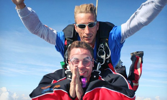 Edmonton Skydive Centre - Edmonton Skydive Centre: One or Two Tandem Jumps in One Visit at Edmonton Skydive Centre (Up to 45% Off)