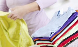e-Laundry USA: Laundry Pickup and Delivery Service for Up to 20 or 35 Pounds from e-Laundry USA (Up to 51% Off)