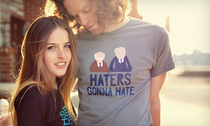 BustedTees.com: BustedTees.Humorous T-Shirts from BustedTees.com (Up to 52% Off). Two Options Available.