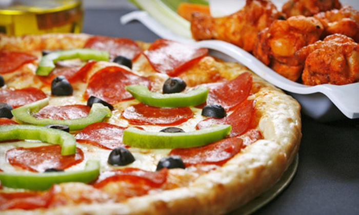 Uncle Vito's N.Y. Pizza - Whispering Pines: Pizza Meal with Salad and Drinks for Four or $12 for $25 Worth of Italian Fare at Uncle Vito's N.Y. Pizza in Snellville