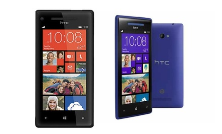 HTC 8X Verizon CPO GSM Unlocked Smartphone in Blue or Black (Refurbished). Free Returns.