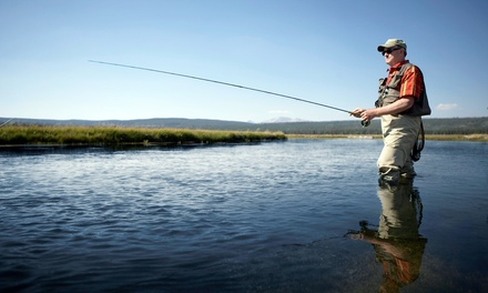 $199 for a Half-Day Guided Fishing Trip or Two from Simply Fly Fishing Utah ($360 Value)
