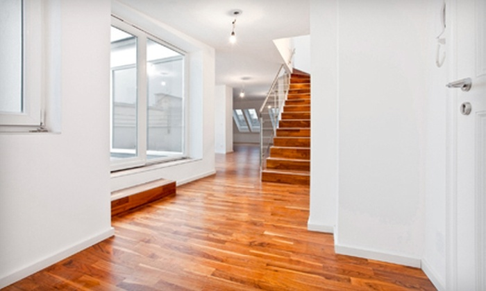 Fabulous Floors  - Central Jersey: $155 for Resurfacing Treatment for Hardwood, Laminate, Engineered, or Pergo Flooring from Fabulous Floors ($375 Value)
