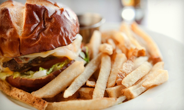 Rivalries Sports Pub and Grill - Downtown,Meeting House Hill: Pub-Fare Meal Two, Four, or Six at Rivalries Sports Pub and Grill (Up to 62% Off)
