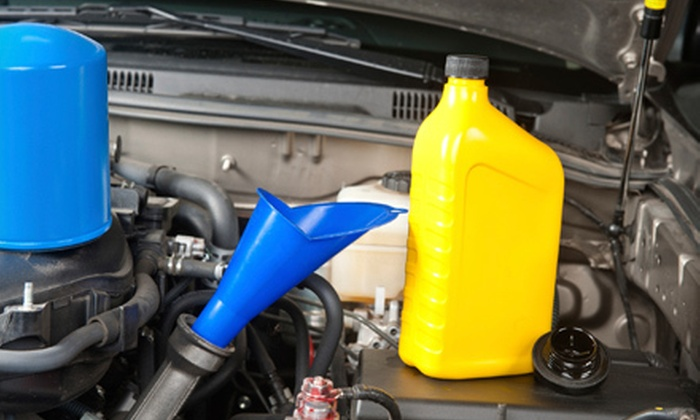 Express Lube - Moore: $26 for an Oil and Filter Change and Set of Wiper Blades at Big Giant Muffler ($52.85 Value)