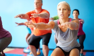ResultsFitnessRx: Two or Four Months of Unlimited Fitness Classes at Results Fitness Rx (64% Off)