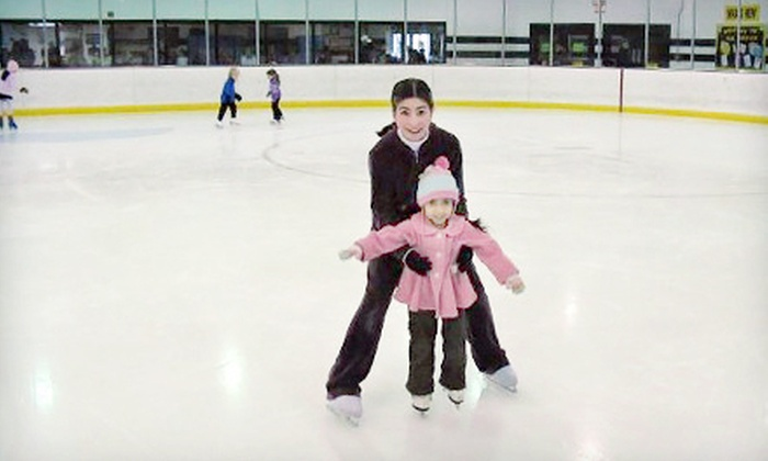 Hampton Roads IcePlex - 2: Ice Skating with Skate Rentals at Hampton Roads IcePlex (Up to 60% Off). Four Options Available.