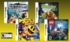 Kids' 4-Game Nintendo DS Bundle: Kids' 4-Game Nintendo DS Bundle Featuring Scooby-Doo, Pac-Man, Battleship, and LEGO Harry Potter