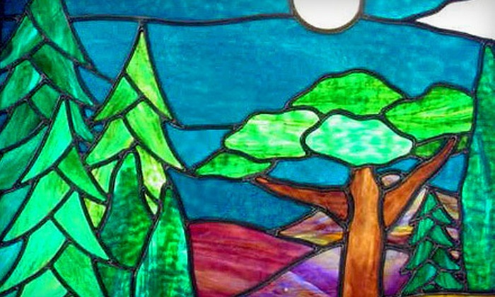 Brennan Stained Glass Studio - Northside: Fused-Glass Classes for Sun Catchers, Panels, or Slumped Plates at Brennan Stained Glass Studio (Up to 54% Off)