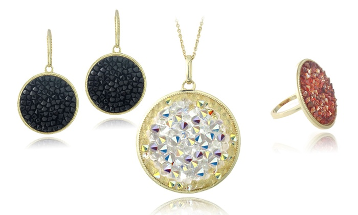 Crystal Rocks Jewelry with Swarovski Elements: Crystal Rocks Jewelry with Swarovski Elements. Multiple Styles Available. Free Returns.