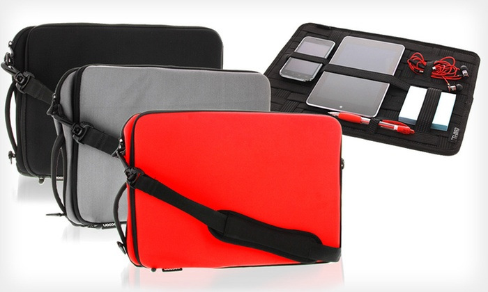 Cocoon Laptop Case Grid-It! Organizer: $30 for a Cocoon Neoprene Laptop Case with Grid-It! Organizer in Black, Grey, or Red ($44.99 List Price). Free Shipping.