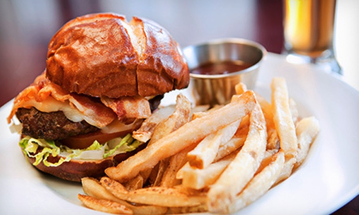 The Bank Restaurant - Wheaton: Locally Sourced American Cuisine at The Bank Restaurant (Up to 53% Off). Three Options Available.