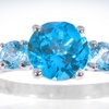 $29.99 for a Sterling Silver Blue-Topaz Ring