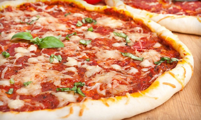 Ottimo Pizza - Schenectady: Large or Medium Pizza Dinner for Two or Four with Appetizers and Sodas or $10 for $20 Worth of Pizza at Ottimo Pizza in Schenectady