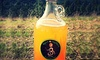 Bare Culture Kombucha - Coeur d'Alene: Growler with a Fill or a Punch Card for Five Kombucha Drinks at Bare Culture Kombucha (47% Off)