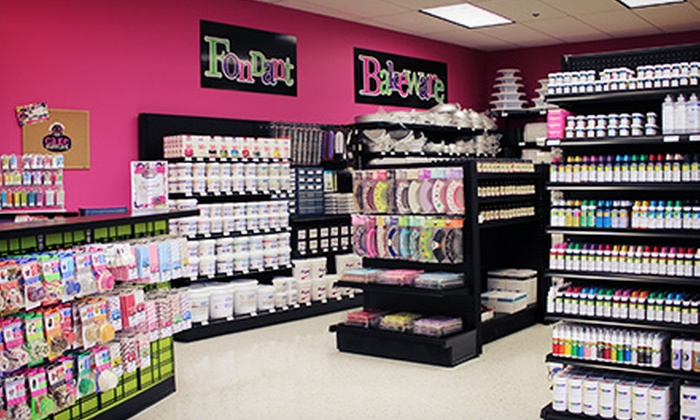 Over The Top Cake Supplies - San Antonio: $25 for $50 Worth of Baking Supplies at Over The Top Cake Supplies