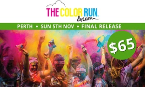 THE COLOR RUN: The Color Run™ Dream Tour - Entry for $65 (Plus Booking Fee), 5 November, Langley Park