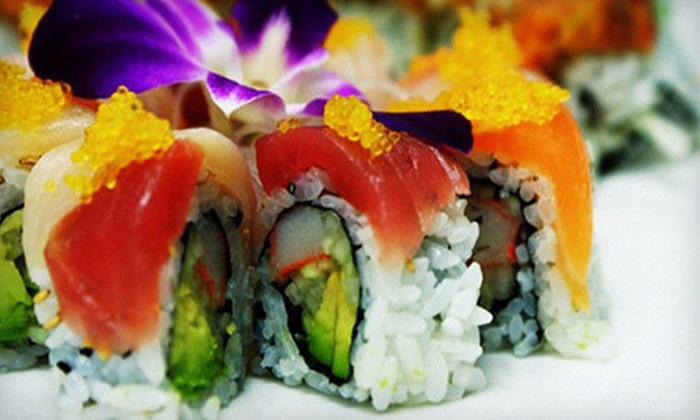 Kumo Japanese Steakhouse & Sushi - Multiple Locations: $13 for $26 Worth of Japanese Cuisine at Kumo Japanese Steakhouse & Sushi