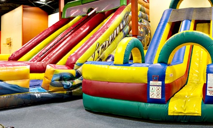 $25 for Five Groupons, Each Good for One All-Day Bounce Pass at Jump N Play Noblesville ($50 Total Value)