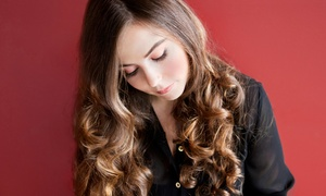 Renae at Sensations Hair Studio: Haircut Package with Optional Highlights or Color from Renae at Sensations Hair Studio (Up to 53% Off)