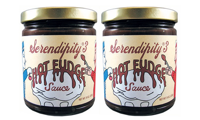 Serendipity 3 - Upper East Side: Two or Four 9-Ounce Jars of Hot Fudge Sauce at Serendipity 3 (Up to 54% Off)