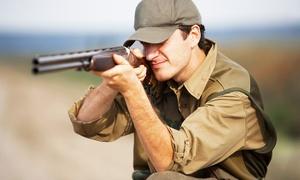 Central Scotland Shooting School Ltd: Clay Pigeon Shooting with 30, 40 or 50 Clays at Central Scotland Shooting School