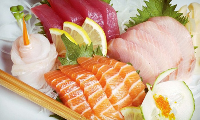 Sushi Eye - Ahwatukee Foothills: $26.99 for a Sushi Meal with a Bottle of Wine for Two at Sushi Eye (Up to $67.90 Value)