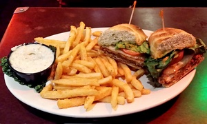 Dante's: Two Purgatory Sandwiches with Fries and Tallboys at Dante's (27% Off)