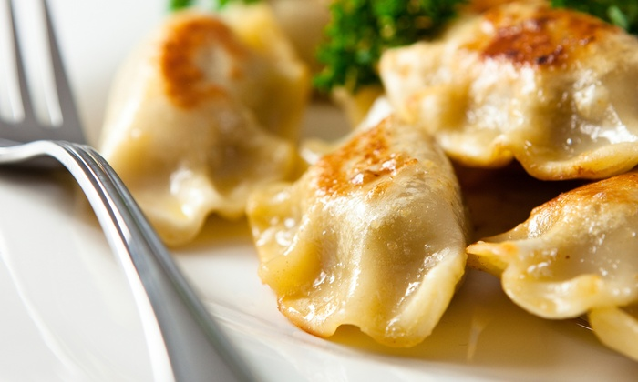 The Funky Monk - Evanston: Russian and Mongolian Dumplings for Two or Four or More at The Funky Monk (Up to 45% Off)