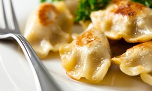 The Funky Monk: Russian and Mongolian Dumplings for Two or Four or More at The Funky Monk (Up to 62% Off)