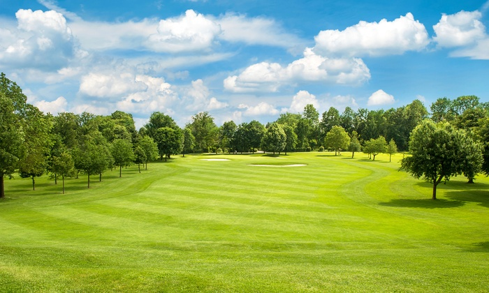 Stone Meadows Golf Course - Buck: Footgolf and Ball Rental for Two or Four at Stone Meadows Golf Course (Up to 50% Off)