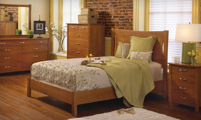 The Granary - Multiple Locations: Amish Furniture and Decor at The Granary (Up to 51% Off). Three Options Available.