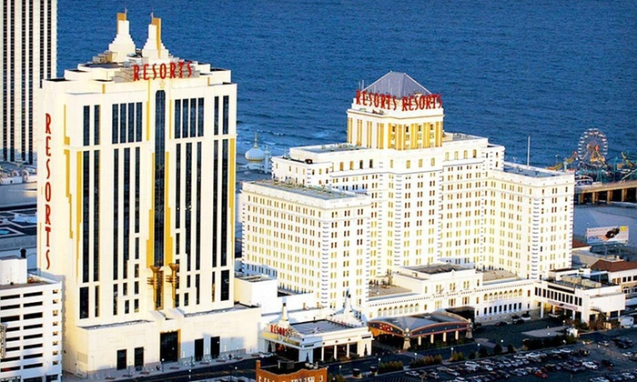 Resorts Casino Hotel - Atlantic City, NJ: One- or Two-Night Stay in a Rendezvous or Ocean Tower Room with Show Tickets at Resorts Casino Hotel in Atlantic City