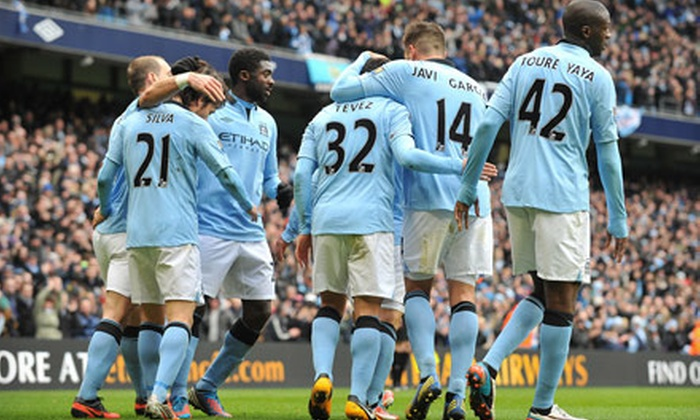 Manchester City FC vs. Chelsea FC - YANKEE STADIUM: Manchester City FC vs. Chelsea FC Premier League Friendly Soccer Match at Yankee Stadium on May 25 (Up to 40% Off)